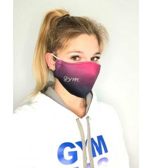 Masque coqué rose gym...