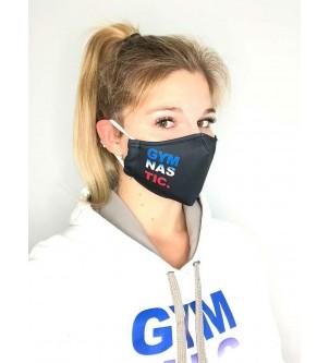 Masque coqué noir gymnastique