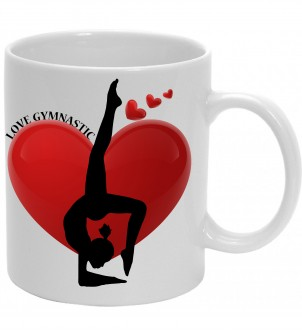 Mug Love gymnastic