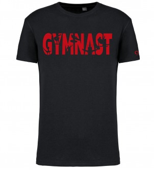 T-shirt homme gymnast rouge