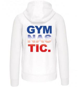 Veste Femme gym bleu blanc...